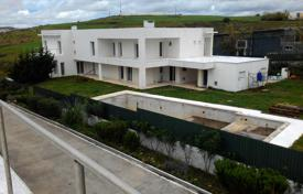 6 bedroom houses for sale in Portugal. Spacious villa on the stage of finishing work, with private pool, tennis court and a large garden, Oeiras, Barcarena