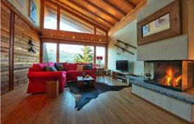 5 bedroom villas and houses to rent in Valais. Cozy chalet style apartment with balconies, swimming pool, Ski and boot storage, sauna and parking. Verbier, Switzerland