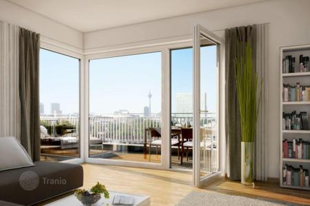 Penthouses for sale in North Rhine-Westphalia. Modern penthouse with terrace in the new building in the district of Pempelfort, Düsseldorf