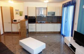 1 bedroom apartments for sale in Croatia. Furnished apartment on the first line by the sea and with a large terrace, Medulin, Croatia