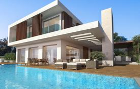 4 bedroom houses for sale in Protaras. Modern villa with garden, swimming pool and panoramic sea view, in Protaras, Cyprus