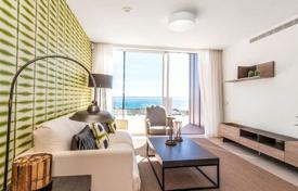 Penthouses for sale in Benalmadena. New duplex penthouse with a terrace and a sea view in a residence with a swimming pool, a garden and a gym, Benalmadena, Spain