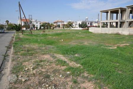 Land for sale in Famagusta. PLOT FOR SALE