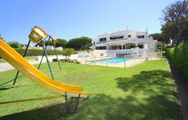 5 bedroom houses for sale in Portugal. Classic style villa with a pool and views of the golf course, Vilamoura, Portugal