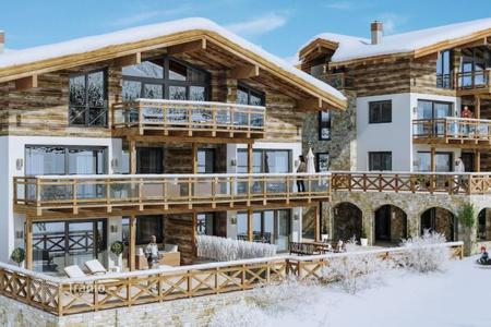 Residential for sale in Salzburg. Splendid apartments with the terrific views of the glacier in Kaprun