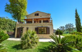 Property for sale in Marche. Furnished house with a terrace and a garden near Lapedona, Italy