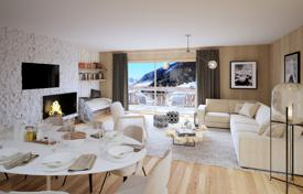 2 bedroom apartments for sale in Haute-Savoie. Two-bedroom apartment with a balcony and a garden, in a new residence, on a ski slope, 5 minutes drive from the center of Megeve, France
