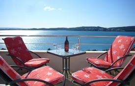 Apartments for sale in Trogir. Furnished penthouse with a terrace and a sea view, Trogir, Croatia