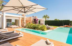 Modern villa in an elite urbanization near the beach of Cala Conta, Ibiza, Spain. Price on request