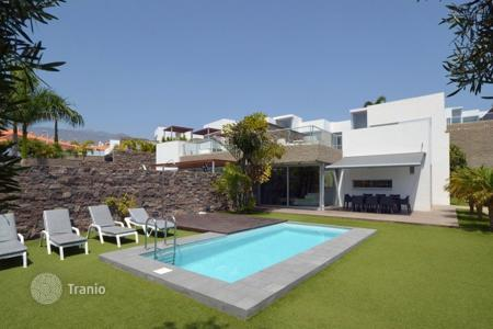 Luxury residential for sale in Tenerife. Beautiful villa on the Costa Adeje only few minutes walk to the sandy beach and new shopping center