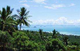 Development land for sale in Thailand. Plot with amazing sea views in the area of Bang Bang Makham