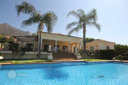 4 bedroom houses for sale in Andalusia. Spacious villa with sea view, Sierra Blanca, Spain