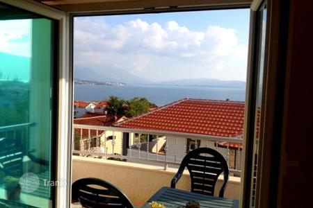 Residential for sale in Montenegro. Hot offer! Furnished apartment with two terraces and panoramic views of the Bay of Kotor in Bijela, at a discounted price!