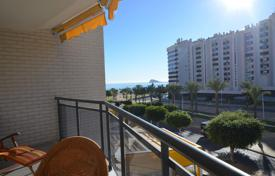 Apartments with pools by the sea for sale in Benidorm. Spacious three-room apartment with a partial sea view, Benidorm, Spain