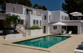 Renovated villa with a terrace, a pool, a gym and a sea view, Sant Josep, Ibiza, Spain for 19,000 € per week