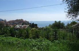 3 bedroom off-plan houses for sale in Southern Europe. Two-storey villa under construction, with a panoramic view of the sea, Imperia, Italy