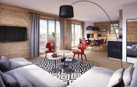 2 bedroom apartments for sale in Arâches-la-Frasse. Two-bedroom apartment with a balcony and a sauna, in a new residence, next to the ski slope, Arâches-la-Frasse, Alpes, France