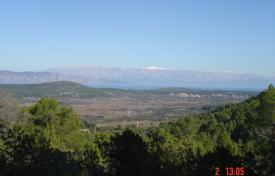 Development land for sale in Split-Dalmatia County. Large plot with a sea view, Hvar, Croatia