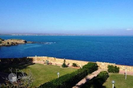 Residential for sale in Sicily. Villa with a garden and a panoramic view of the sea and Etna volcano in Castelluccio, Augusta, Sicily, Italy