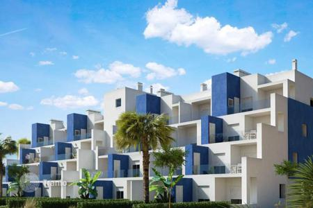 Cheap 2 bedroom apartments for sale in Murcia. 2,3 and 4 bedroom apartments in a private complex next to the Golf Course in Terrazas de la Torre (Murcia)