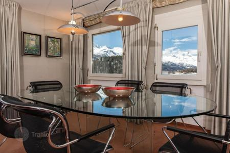 3 bedroom apartments for sale in Alps. Apartment with panoramic views in St Moritz