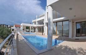 Houses with pools for sale in Rogoznica. Modern villa with a terrace, a pool and a garden, near the beach, Rogoznica, Šibensko-Knin County, Croatia