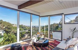 Property for sale in North America. Two-level villa overlooking the famous Hollywood Hills, Los Angeles, USA