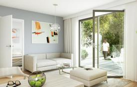1 bedroom apartments for sale in Vienna. Modern apartment with a balcony in the new house, Vienna, Austria