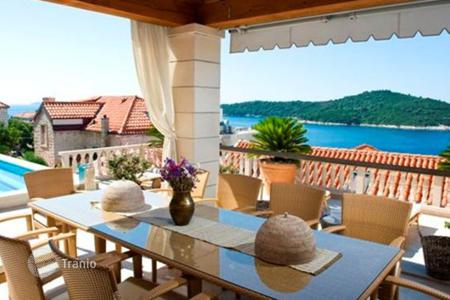 Residential for sale in Dubrovnik Neretva County. Unique villa with swimming pool and gym, Dubrovnik, Croatia. Stunning sea and city view!