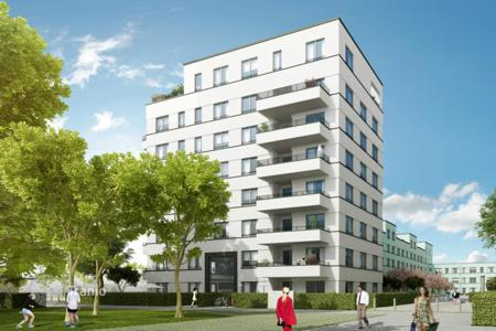 3 bedroom apartments for sale in North Rhine-Westphalia. Modern three-bedroom apartment near the Rhine in Düsseldorf