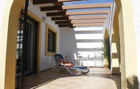Cheap townhouses for sale in Calpe. Semi-Detached Villa of 3 bedrooms in a complex with pool and gardens in Calpe