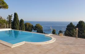 Villa with pool, garden and stunning views of the sea and the city in Ospedaletti, Liguria, Italy for 3,300,000 €