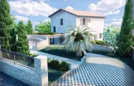 New villa with a plot, a pool, a parking, terraces and sea views, Rezevici, Montenegro for 1,350,000 €