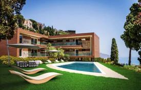 Apartments with pools for sale in Sicily. New high-end picturesque view apartments with different layouts, Taormina, Sicily, Italy