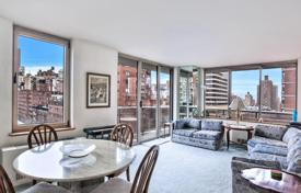 1 bedroom apartments for sale in North America. Corner apartment with a spacious balcony in the residence with concierge, pool and garage, Manhattan, New York