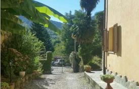 Property for sale in Castelveccana. Property next to the picturesque lake aggiore! The cozy 2-storey farmhouse with a large plot of land and a swimming pool!