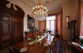 Villa with antique furniture, a spa, a park, a piece of beach, and a pier, in a posh district of Jurmala, Latvia for 5,900,000 €