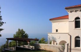 Spacious villa with a terrace, sea views and a garden, near the beach, Sveti Stefan, Budva, Montenegro for 3,000,000 €