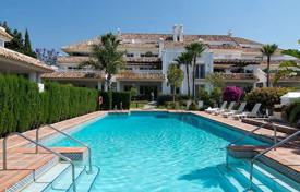 Luxury 3 bedroom houses for sale in Andalusia. Luxury house in a complex with a swimming pool in Marbella, Costa del Sol, Spain