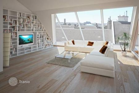 Luxury penthouses for sale in Vienna. Penthouse with terraces and swimming pool, in the center of Vienna, Austria