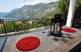 2 bedroom apartments by the sea for sale in Kotor. Duplex in residential compound with outdoor pool