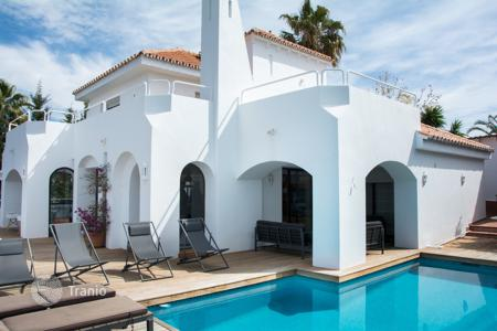 Coastal property for rent in Malaga. Detached house – Malaga, Andalusia, Spain