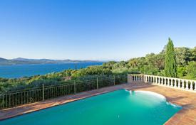 Luxury 6 bedroom houses for sale in Gassin. Proche Saint-Tropez — Villa with superb sea view