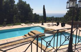 5 bedroom houses for sale in Bouches-du-Rhône. LOVELY VILLA WITH STUNNING SEA VIEW NEAR LA CIOTAT