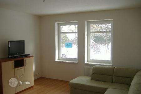 Cheap apartments for sale in Karlovy Vary. Apartment in Karlovy Vary with a beautiful view of the forest