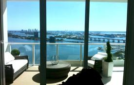 Spacious apartment with ocean views in a residence on the first line of the beach, Miami, Florida, USA for $1,000,000