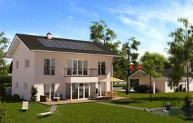 4 bedroom houses for sale in Germany. Modern brick house with a private garden and a garage, Starnberg, Germany