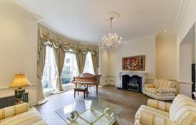 Townhouses for sale in London. Elite townhouse with a garage in the Mayfair area, London, United Kingdom