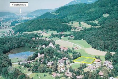 Development land for sale in Austrian Alps. Exclusive land plot for projected villa – near to Salzburg-City, Austria