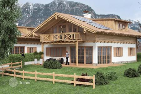 Off-plan residential for sale in Bavaria. New cottage from the builder in the ski resort of Garmisch-Partenkirchen, Germany